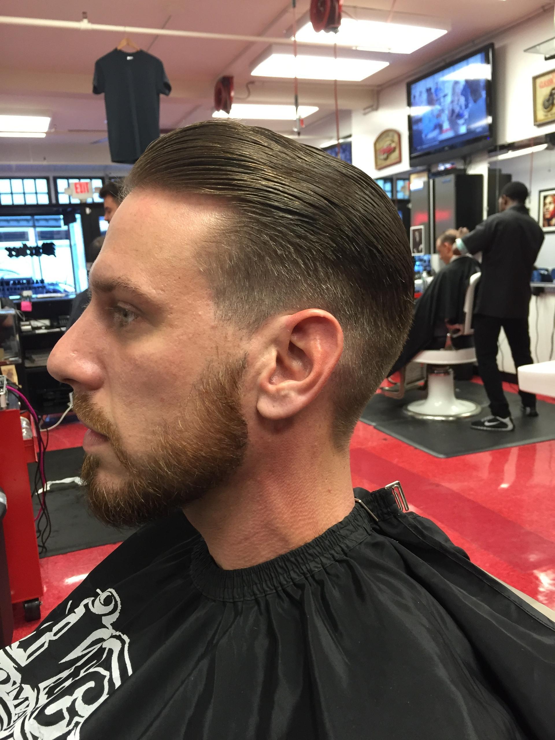 Gentlemen S Hair Cuts Cruisin Style Barber Parlor