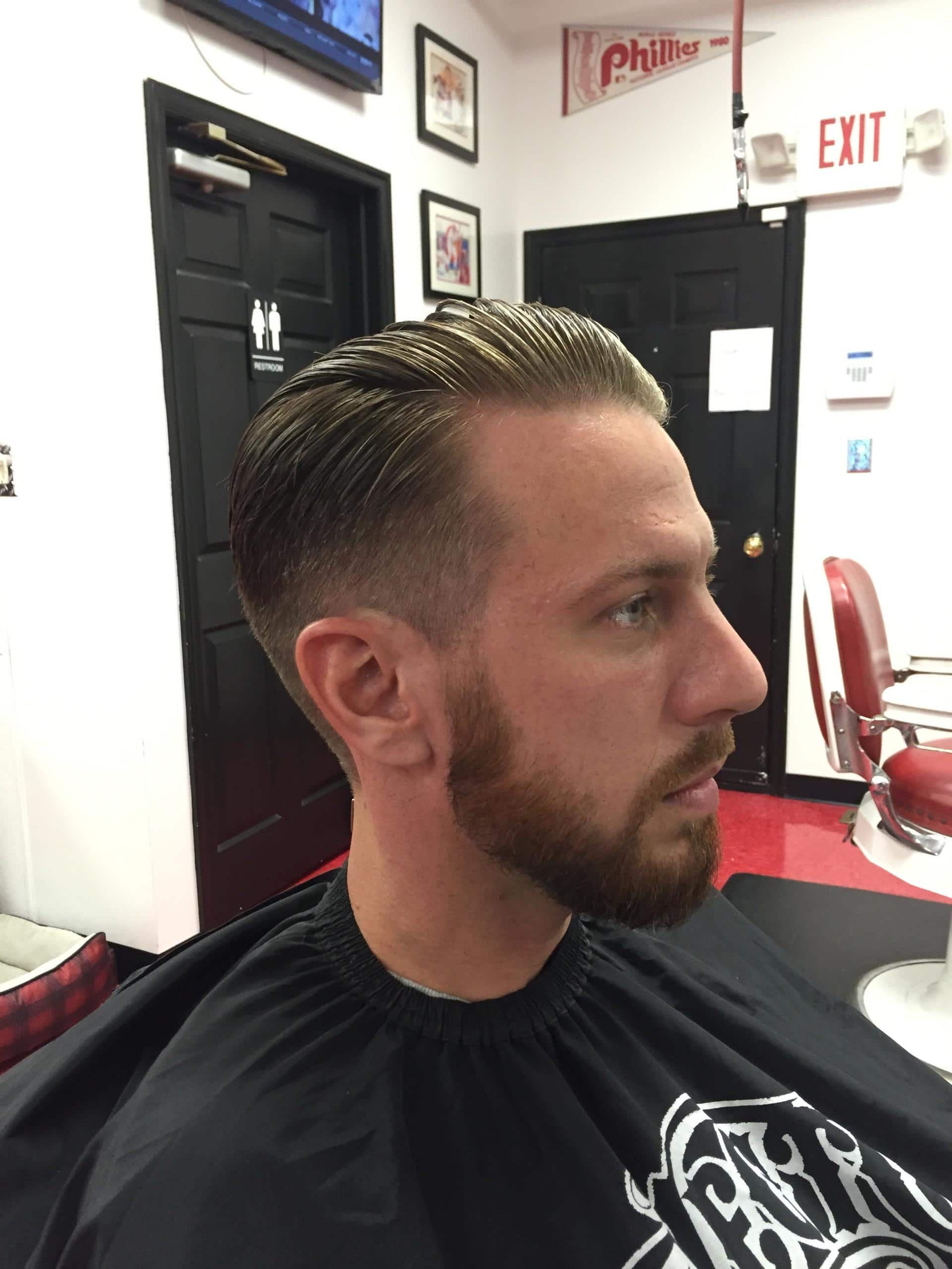 Gentlemens Hair Cuts Cruisin Style Barber Parlor